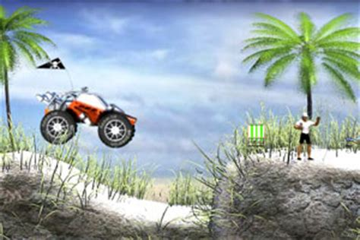 沙丘越野车